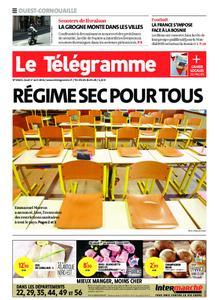 Le Télégramme Ouest Cornouaille – 01 avril 2021