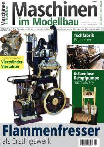 Maschinen im Modellbau - März-April 2017