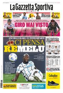 La Gazzetta dello Sport – 25 ottobre 2020