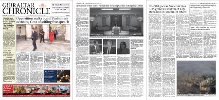 Gibraltar Chronicle – 31 July 2021