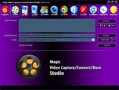 Magic Video Capture Convert Burn Studio v7.9.9.1