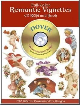 Dover: Full-Color Romantic Vignettes