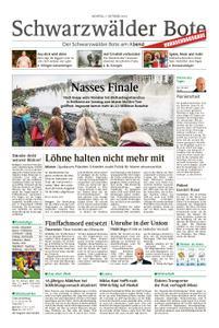 Schwarzwälder Bote Schwenningen - 07. Oktober 2019