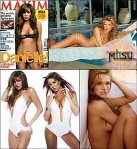 Danielle Lloyd - Maxim April 2007 & Gallery