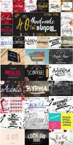 CreativeMarket - Font & Bonus Bundle