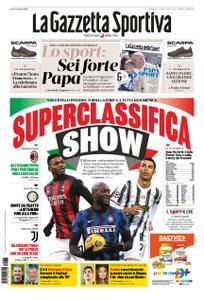 La Gazzetta dello Sport Roma – 03 gennaio 2021