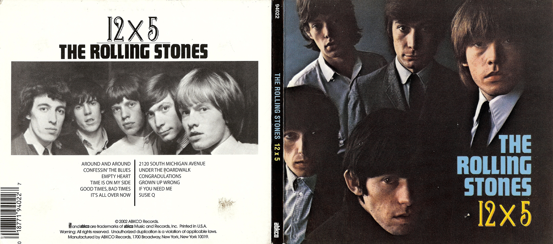 the rolling stones 12 x 5 1964 3 releases avaxhome. Black Bedroom Furniture Sets. Home Design Ideas