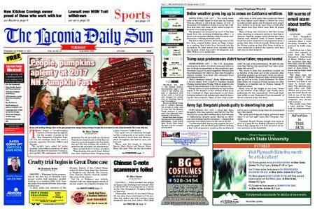 The Laconia Daily Sun – October 17, 2017