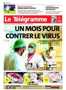 Le Télégramme Brest – 29 octobre 2020