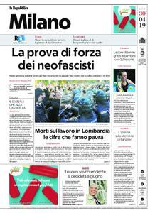 la Repubblica Milano – 30 aprile 2019