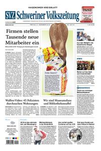 Schweriner Volkszeitung Hagenower Kreisblatt - 21. Dezember 2018