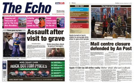 Evening Echo – September 18, 2019