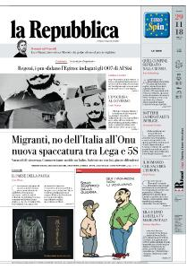 la Repubblica - 29 Novembre 2018