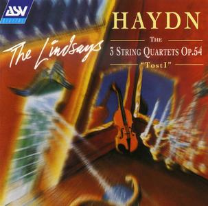 "The Lindsays - Haydn: The 3 String Quartets, Op.54 ""Tost I"" (1995)"