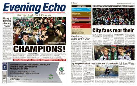 Evening Echo – October 18, 2017