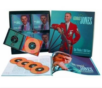 George Jones: She Thinks I Still Care - The Complete United Artists Recordings 1962-1964 (Box set) (2007)