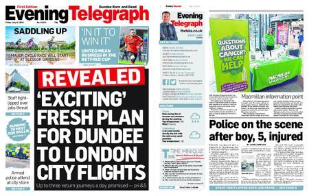 Evening Telegraph First Edition – July 12, 2019