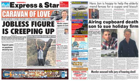 Express and Star Sandwell Edition – October 17, 2018