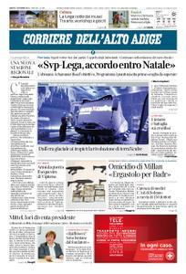 Corriere dell'Alto Adige – 01 dicembre 2018