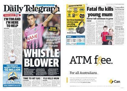 The Daily Telegraph (Sydney) – September 26, 2017