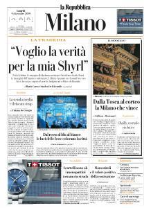 la Repubblica Milano - 9 Dicembre 2019