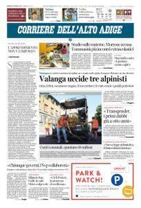 Corriere dell'Alto Adige - 23 Marzo 2018