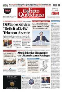 Il Fatto Quotidiano - 27 settembre 2018