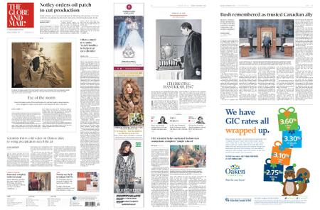 The Globe and Mail – December 03, 2018
