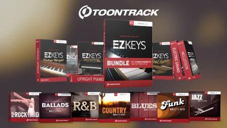 Toontrack EZkeys Complete 1.2.4 x86 x64 VSTi AAX RTAS WiN
