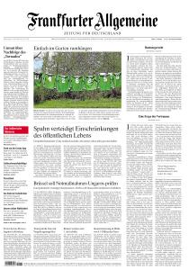 Frankfurter Allgemeine Zeitung - 23 April 2020