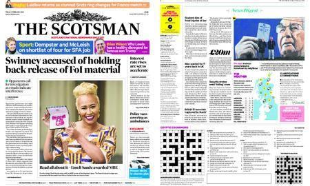 The Scotsman – February 09, 2018