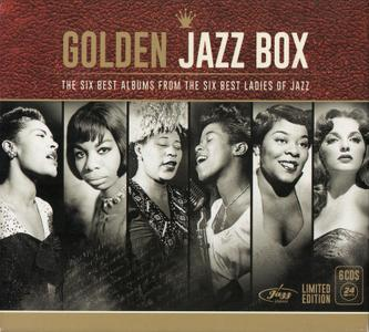 VA - Golden Jazz Box: The Six Albums From The Six Best Ladies Of Jazz (2015) {6CD Box Set, Deluxe Limited Edition}