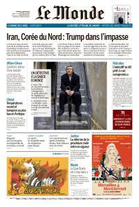 Le Monde du Vendredi 3 Janvier 2020