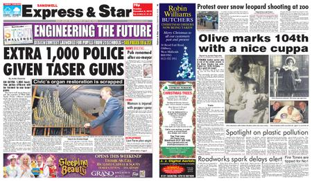 Express and Star Sandwell Edition – December 04, 2018