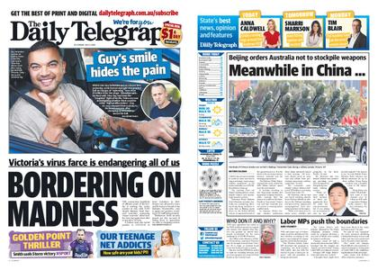 The Daily Telegraph (Sydney) – July 03, 2020
