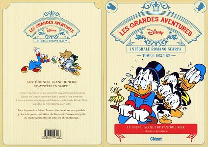 Disney - Les Grandes Aventures - L'intégrale de Romano Scarpa - Tome 1 - 1953-1956 - Le Double Secre...