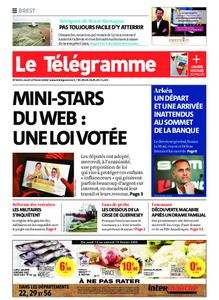 Le Télégramme Brest – 13 février 2020
