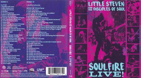 Little Steven And The Disciples Of Soul - Soulfire Live! (2019) [Blu-ray 1080p + 3DVD]
