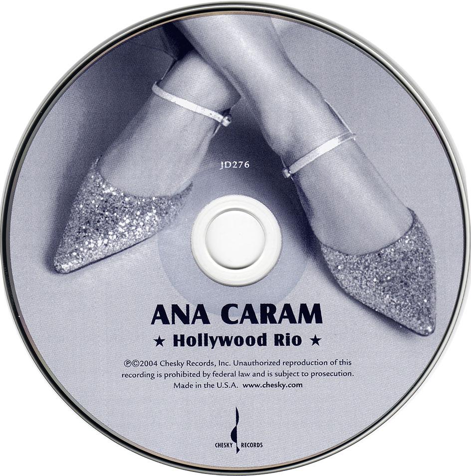 ANA BAIXAR BOSSA CARAM CD BLUE