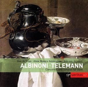 Bob van Asperen, Alma Musica Amsterdam - Albinoni, Telemann: Concertos and Sonatos for oboe (2001)