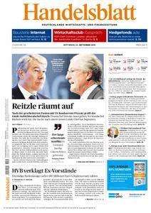 Handelsblatt - 14. September 2016