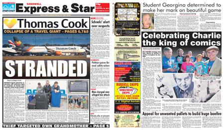 Express and Star Sandwell Edition – September 24, 2019