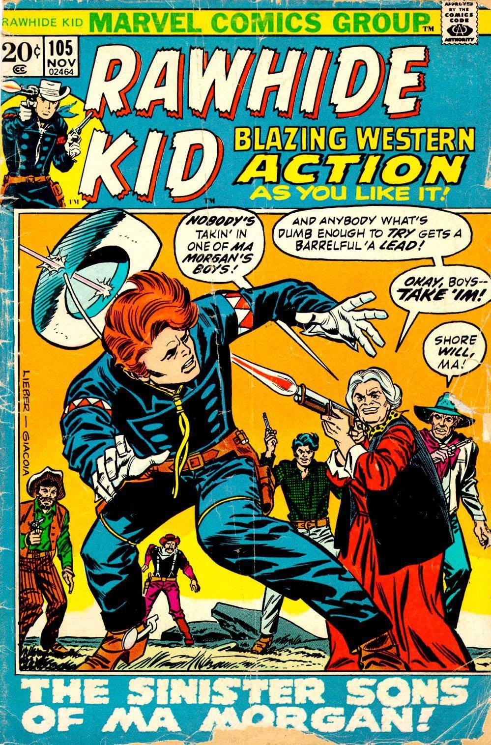 Rawhide Kid v1 105 1972