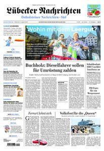 Lübecker Nachrichten Ostholstein Süd - 08. August 2018