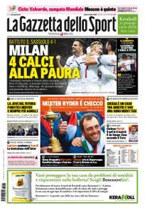 La Gazzetta dello Sport – 01 ottobre 2018
