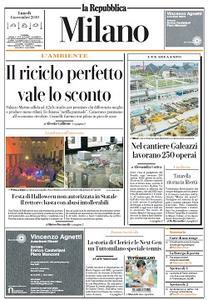 la Repubblica Milano - 4 Novembre 2019