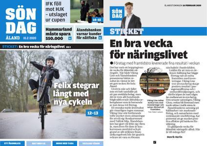 Ålandstidningen – 16 februari 2020