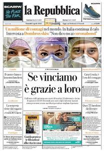la Repubblica - 3 Aprile 2020
