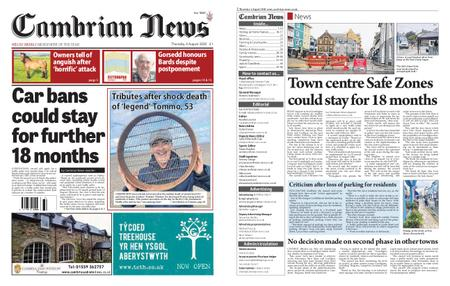 Cambrian News Machynlleth & Llanidloes – 06 August 2020