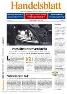 Handelsblatt - 19. April 2018
